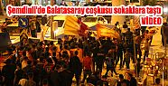 Şemdinli'de Galatasaray coşkusu sokaklara...