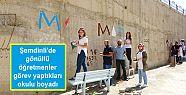 Şemdinli'de gönüllü öğretmenler görev...