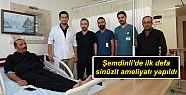 Şemdinli'de ilk defa sinüzit ameliyatı...