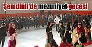 Şemdinli'de mezuniyet gecesi