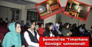 Şemdinli'de 'Tımarhane günlüğü' sahnelendi!...