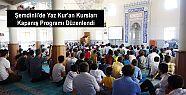 Şemdinli'de Yaz Kur'an Kursları Kapanış...