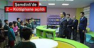 Şemdinli'de Z – Kütüphane açıldı