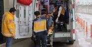 Siirt'te Minibüs uçuruma yuvarlandı