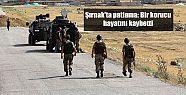 Şırnak'ta patlama: Bir korucu hayatını...