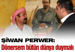 Şiwan Perwer ile Söyleşi