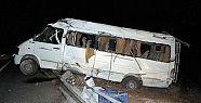 Tarım işçilerini kaza yaptı: 17 kişi...