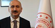 Ulaştırma Bakanı Mehmet Cahit Turhan...
