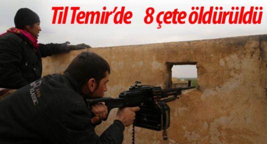 Til Temir'de saldıran çeteler darbe yedi