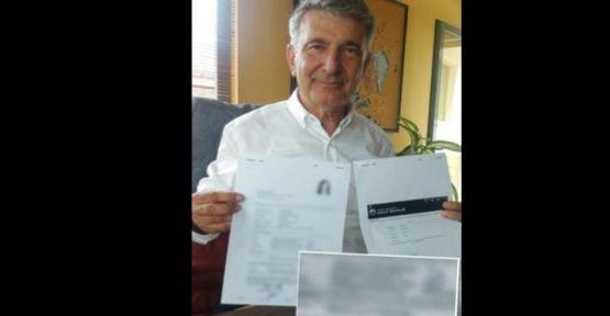 Torpil belgesini yanlış yere gönderdi
