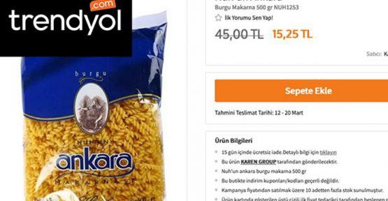 Trendyol'dan 'fahiş fiyat' açıklaması