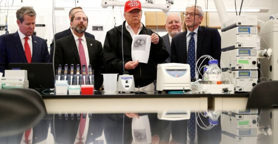 Trump: Virüsle ilgili her şeye hazırlıklıyız