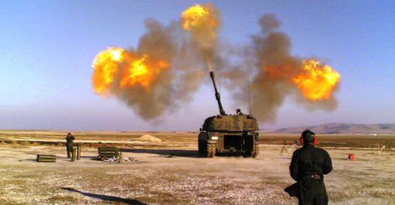 TSK, Afrin'deki YPG mevzilerini vurdu
