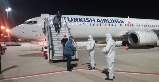 Türkiye vatandaşları Afrika'dan getirildi