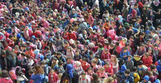Türkiye'nin en kalabalık ilkokulu: 66 ilçenin nüfusundan fazla