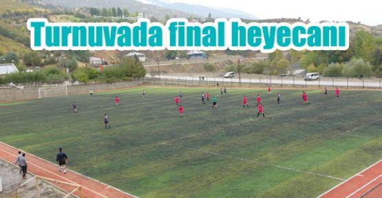 Turnuvada final heyecanı