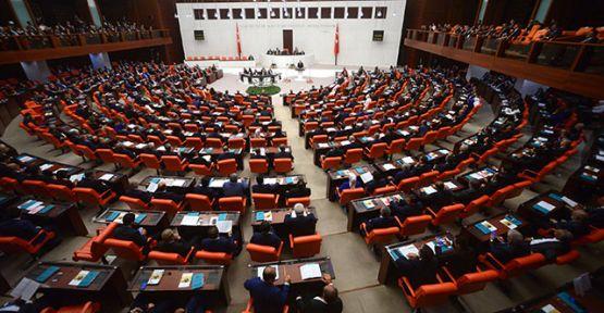 Üç bakanlığın bütçesi, TBMM'de görüşülerek kabul edildi