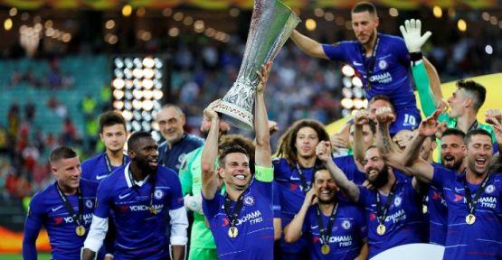 UEFA Avrupa Ligi'nde şampiyon Chelsea oldu