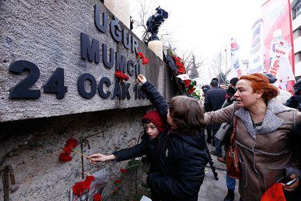 Uğur Mumcu Ankara'da anıldı