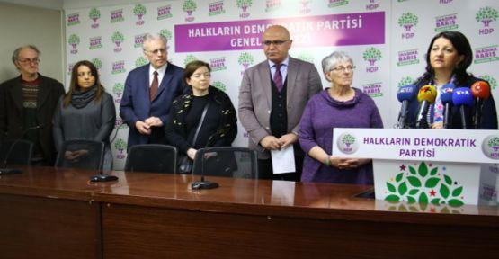 Uluslararası Barış Heyeti'nden HDP'ye ziyaret