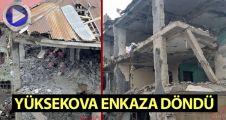 Yüksekova Cumhuriyet mahallesinden son görüntüler