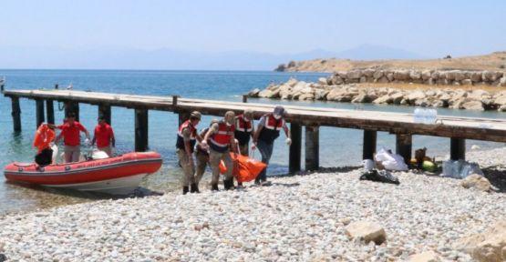 Van Gölü'nde bir kişinin daha cesedine ulaşıldı