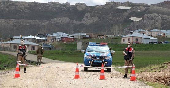 Van'da gizli taziye kurulan iki mahalledeki vaka sayısı 163'e yükseldi