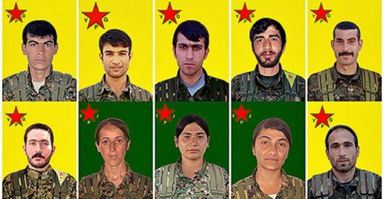 Yaşamını yitiren 10 YPG savaşçısının kimliği açıklandı