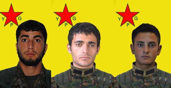 Yaşamını yitiren 3 YPG savaşçısının kimliği açıklandı