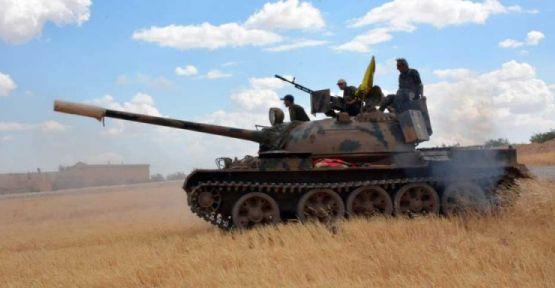 YPG öncülüğündeki güçler Rakka'ya 4 koldan ilerliyor