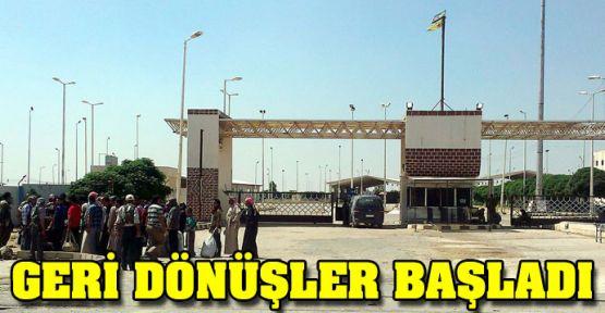 YPG-YPJ'nin kontrolündeki Tel Abyad'a geri dönüşler başladı