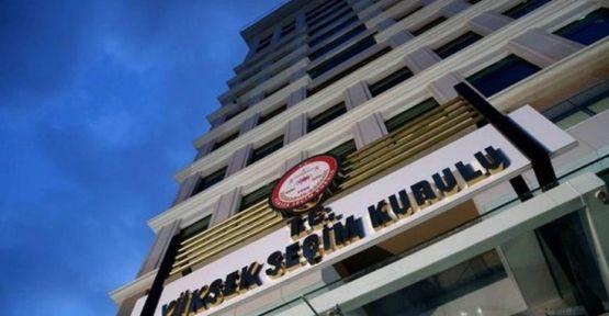 YSK 5 ilin milletvekili sayısını yeniden düzenledi