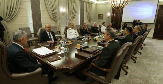 Yüksek Askeri Şura toplantısı sona erdi