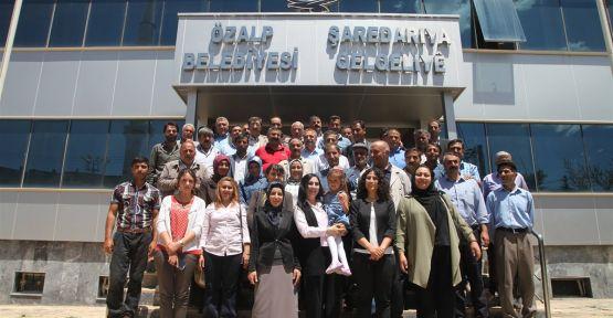 Yüksekdağ Özalp halkına teşekkür etti
