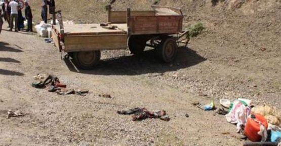 Yüksekova'daki traktör kazasında bir kişi daha hayatını kaybetti