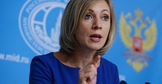 Zaharova: Dışişleri sitesi hiçbir zaman hacklenmedi