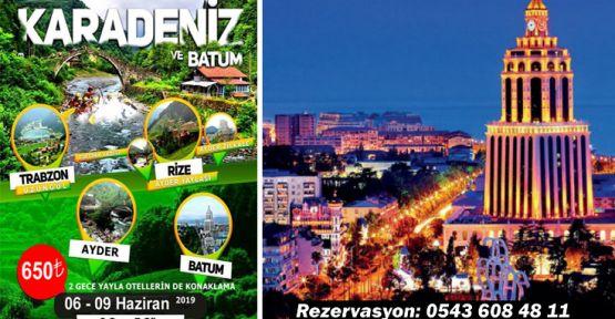 Zeysin Turizm ile KARADENİZ ve BATUM TURU
