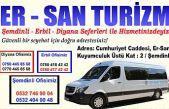 Er-San Turizm Hizmetinizde