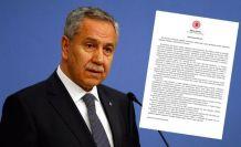 Bülent Arınç: İstifamı Cumhurbaşkanı'na verdim, karşılıklı helalleştik