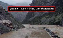 Şemdinli - Derecik yolu ulaşıma kapandı