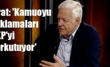 Fırat: 'Kamuoyu yoklamaları AKP'yi korkutuyor'