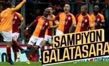 Galatasaray, Başakşehir'i 2-1 yenip şampiyon oldu