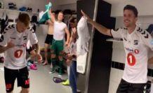 Norveçli futbolcular galibiyetlerini Kürtçe şarkıyla kutladı