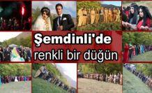 Şemdinli'de renkli bir düğün