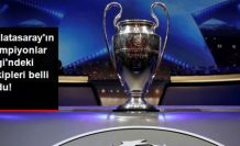 UEFA Şampiyonlar Ligi kura çekimi gerçekleştirildi