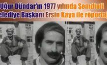 Eski Şemdinli Belediye Başkanı Ersin Kaya ile röportaj