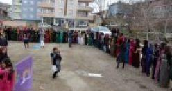 Şemdinli'de 8 Mart Kadınlar Günü kutlaması