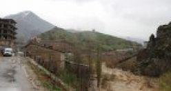Şemdinli'de sağnak yağış ve tahribat