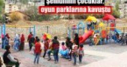 Şemdinlili çocuklar, oyun parklarına kavuştu