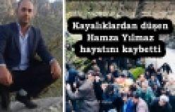 Kayalıklardan düşen Hamza Yılmaz hayatını kaybetti